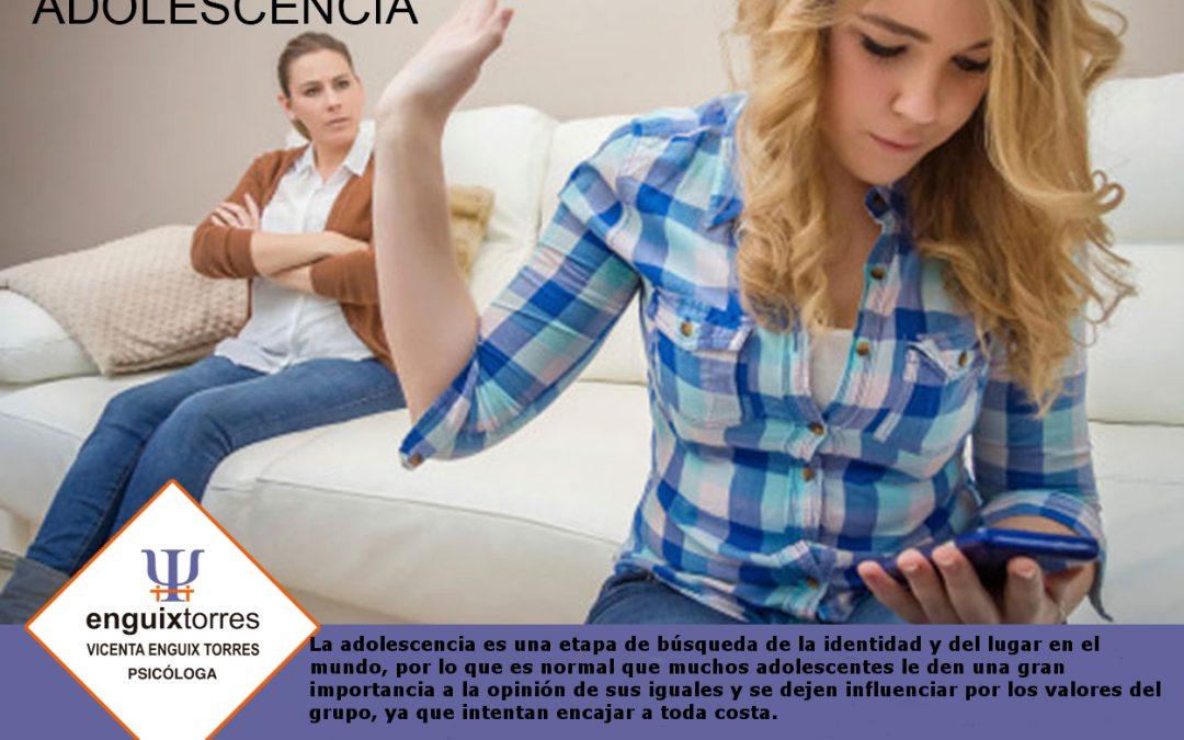 Problemas de Adolescencia